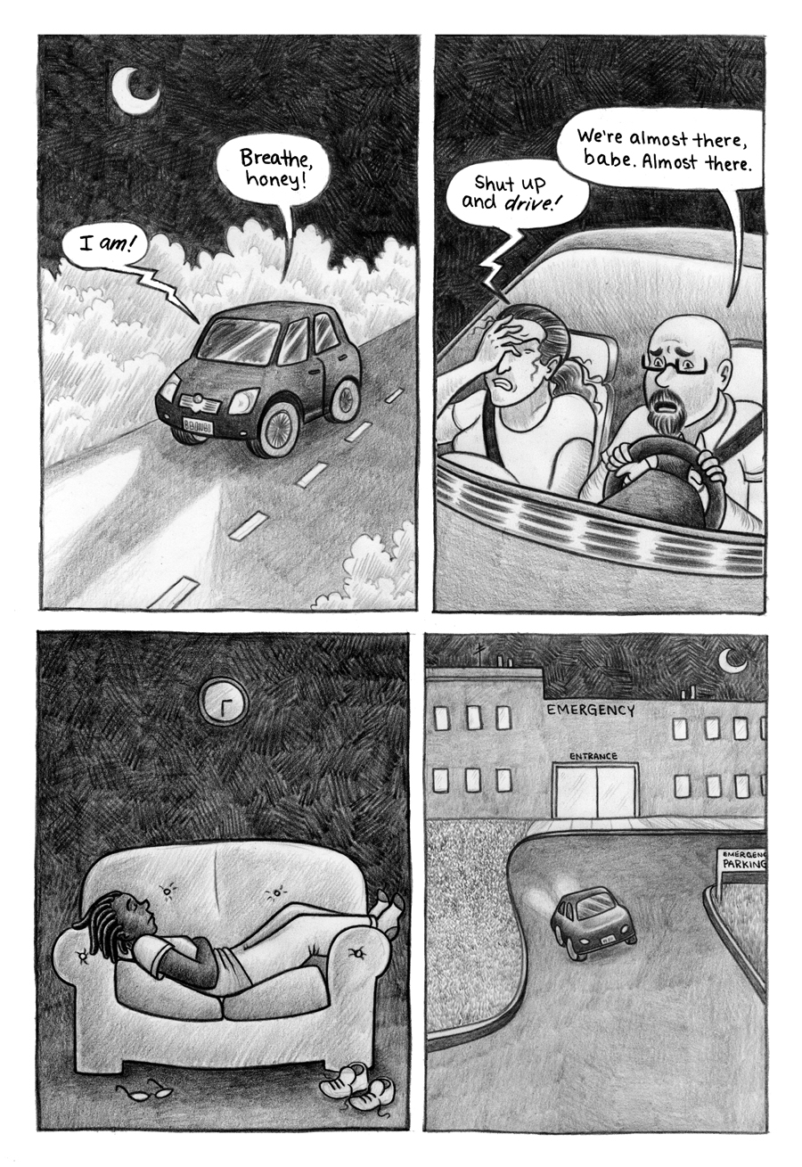 Born on the Last Day on Earth page 1
